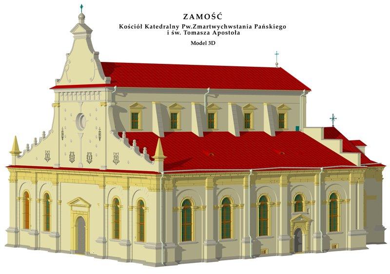 Kościół Katedralny pw. Zmartwychwstania Pańskiego i Św. Tomasza Apostoła w Zamościu